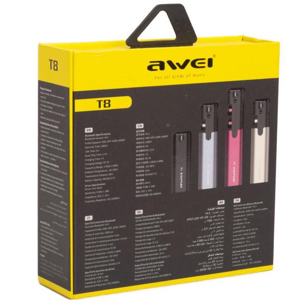 Беспроводные наушники Awei T8