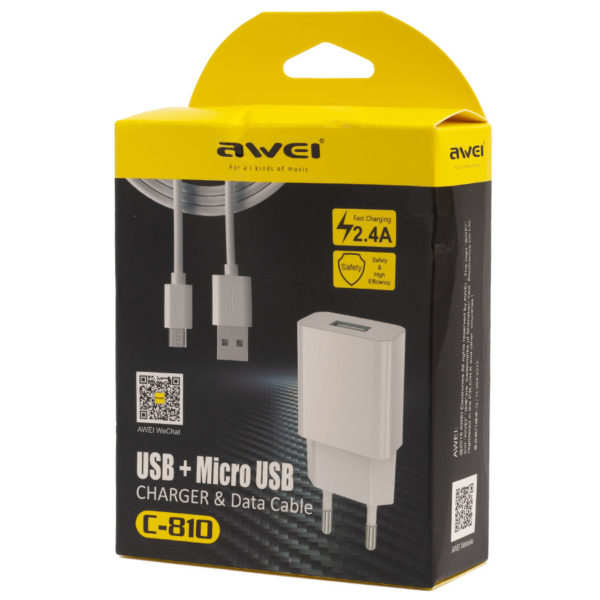 USB+Micro charger Data Cable c-810