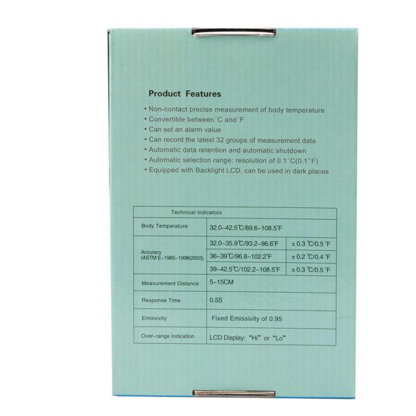 Бесконтактный инфракрасный термометр DT-8836