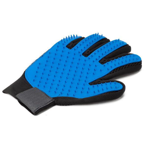 Перчатки для расчесывания животных True touch