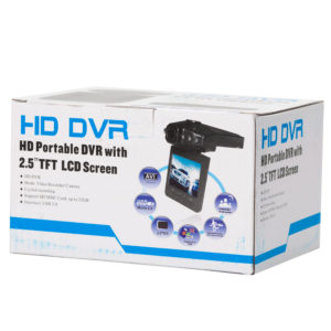 Видеорегистратор HD Portable DVR with 2.5 TFT LCD Screen4
