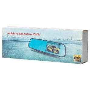 Зеркало-видеорегистратор BLACKBOX DVR с камерой заднего вида