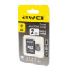 Карта памяти micro SDHC AWEI 2 GB