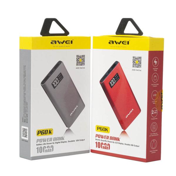 Powerbank AWEI P60K