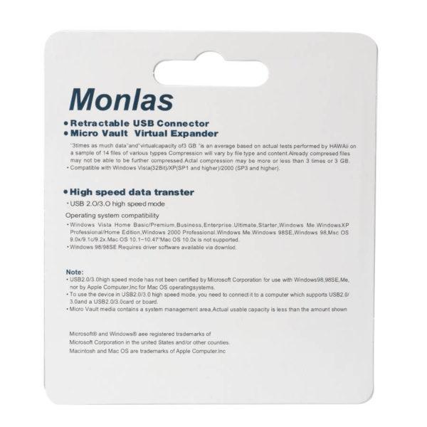 USB накопитель Monlas 8 GB