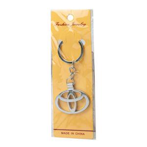 Автомобильные металлические брелки с логотипом