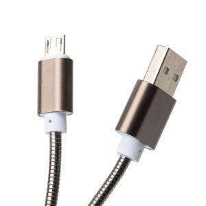 Металлический кабель Micro USB
