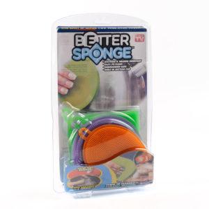 Универсальные губки для мытья посуды - Better Sponge
