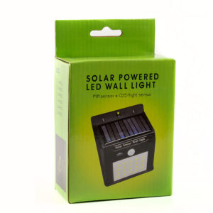 Настенный LED светильник, на солнечной батареи