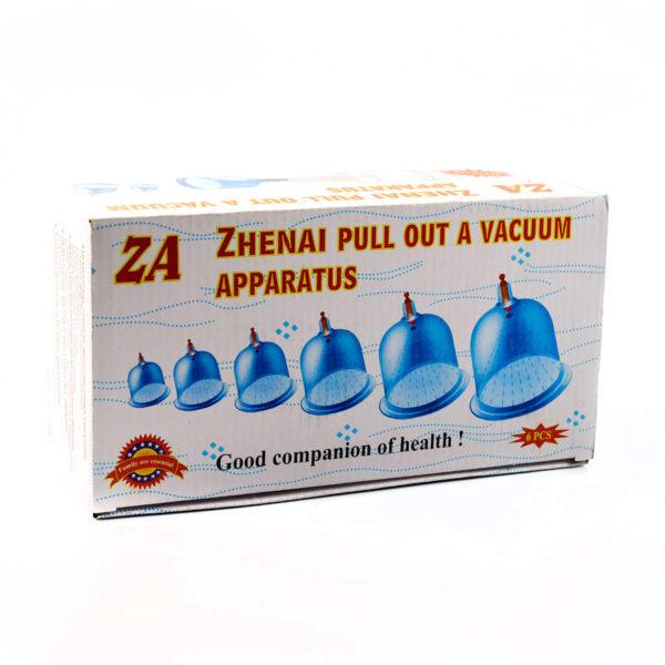 Вакуумные массажные банки - Zhenai pull out a vacuum apparatus