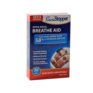 Вставки в нос, для улучшения дыхания - SleepRight
