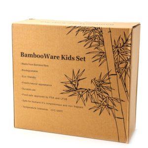 Набор детской, бамбуковой посуды - Kids Set