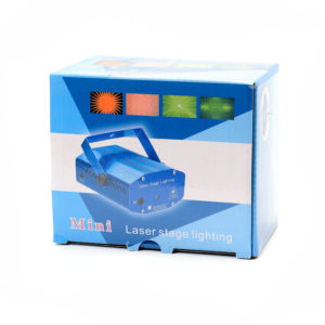 Лазерный проектор - Mini Laser Stage Lighting