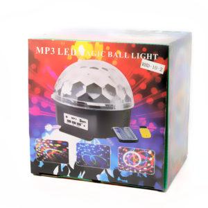Светодиодный диско-шар (с приводом) - Magic Ball Led Crystal