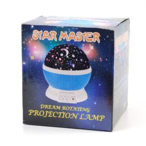 Ночник (проектор) звездного неба - Star Master Ddream Rotating
