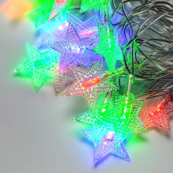 Гирлянда - ZWM 40 LED (звёздочки)