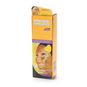 Маска для лица - Wokali Whitening Gold Caviar Peel Off Mask