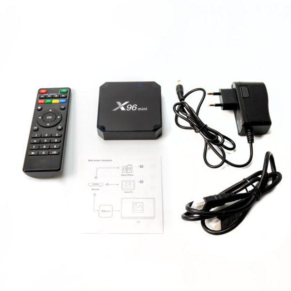 ТВ приставка - Smart TV X96 Min