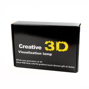 Светильник - 3D creative visualization lamp