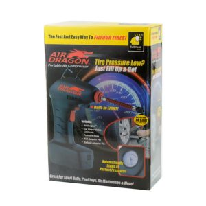 Автомобильный портативный воздушный компрессор - Air Dragon