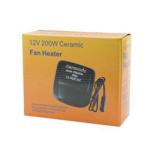 Автомобильный обогреватель - Ceramic Fan Heater 200W 12V