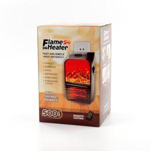 Портативный настенный мини-нагреватель - Flame Heater 500 w