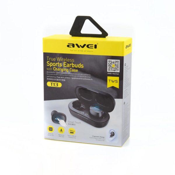 Беспроводные наушники - Awei T13