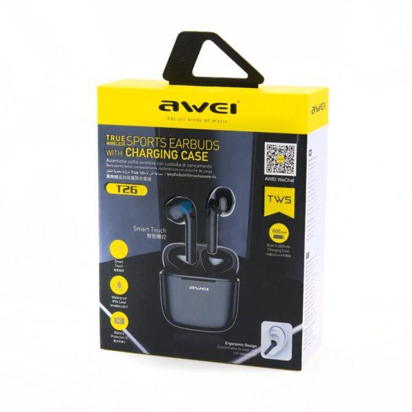 Беспроводные наушники - Awei T26