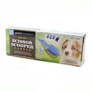 Набор для уборки за собакой на улице - Scissor Scooper
