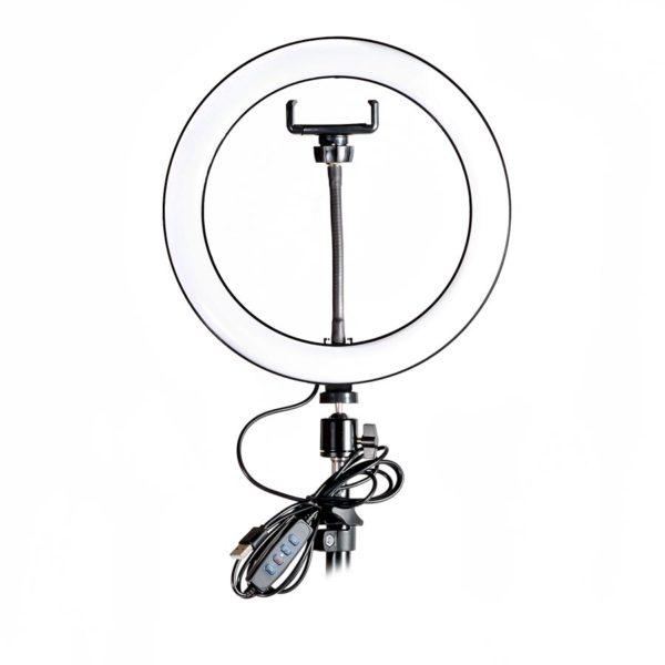 Кольцевая лампа - Ring fill light - 26 см