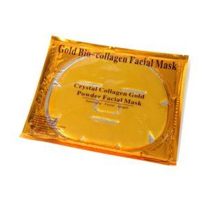Коллагеновая маска для лица - Gold Bio