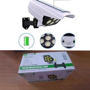 Уличный прожектор - муляж камеры на солнечной батарее YG-1576