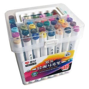 Набор двусторонних маркеров 48 цветов Sketch Marker PM514-48