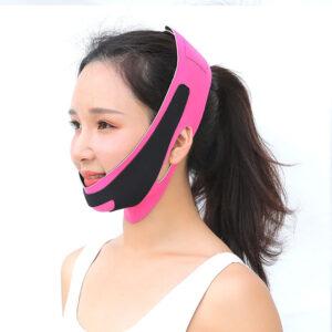 Повязка-бандаж для коррекции овала лица 3D лифтинг
