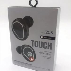 Беспроводные вакуумные наушники Touch HD 208