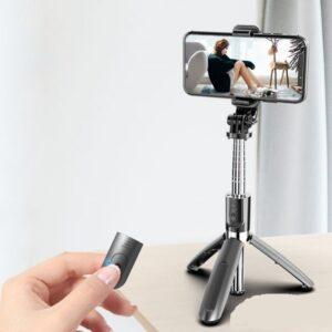 Беспроводной монопод со встроенной треногой Selfie Stick L02